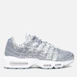 Nike Air Max 95 Anniversary QS Men's Sneakers Pure Platinum/Metallic Siver White photo- 0