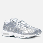 Nike Air Max 95 Anniversary QS Men's Sneakers Pure Platinum/Metallic Siver White photo- 1