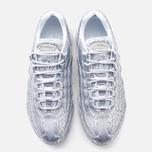 Nike Air Max 95 Anniversary QS Men's Sneakers Pure Platinum/Metallic Siver White photo- 4