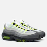 Мужские кроссовки Nike Air Max 95 OG Premium 3M Neon Medium Ash/Black/Volt/Dark Pewter фото- 1