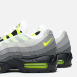 Мужские кроссовки Nike Air Max 95 OG Premium 3M Neon Medium Ash/Black/Volt/Dark Pewter фото- 5