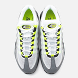 Мужские кроссовки Nike Air Max 95 OG Premium 3M Neon Medium Ash/Black/Volt/Dark Pewter фото- 4