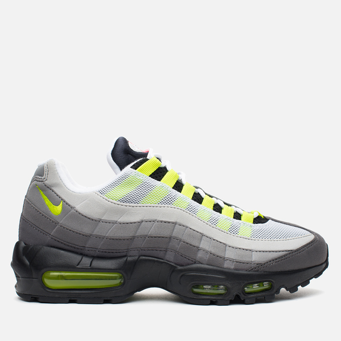 Мужские кроссовки Nike Air Max 95 OG QS Greedy Black/Volt/Safety Orange