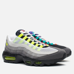 Мужские кроссовки Nike Air Max 95 OG QS Greedy Black/Volt/Safety Orange фото- 1