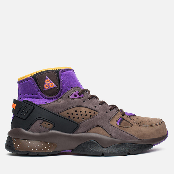 Мужские кроссовки Nike Air Mowabb OG Pitch/Total Orange/Trail End Brown