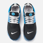 Nike Air Presto QS Men's Sneakers Black/Grey/Harbor Blue photo- 4