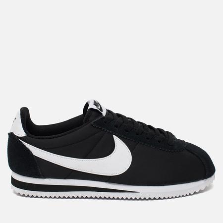 Nike Мужские кроссовки Classic Cortez Nylon Black/White