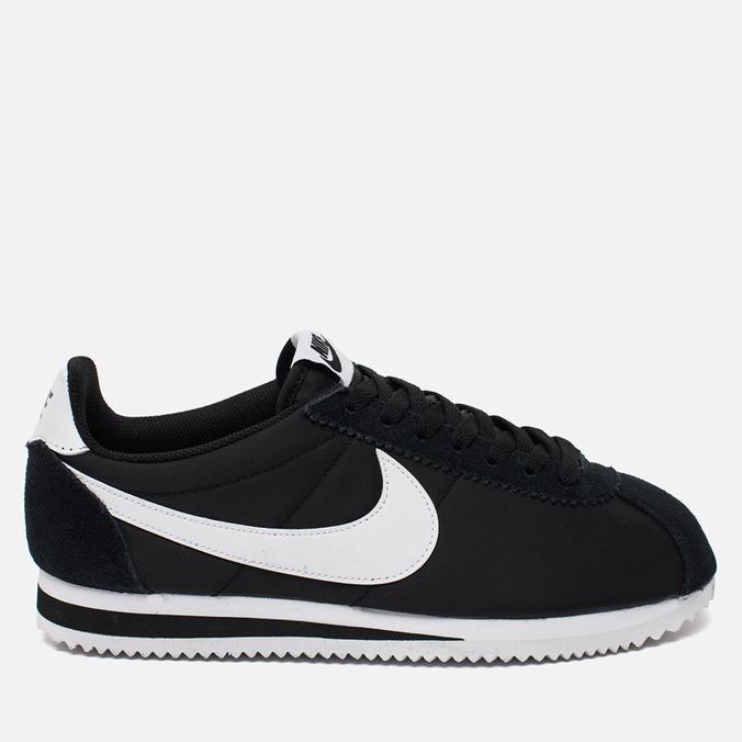 Nike Classic Cortez Nylon Men's Sneakers Black/White