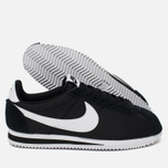 Nike Classic Cortez Nylon Men's Sneakers Black/White photo- 2