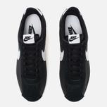 Nike Classic Cortez Nylon Men's Sneakers Black/White photo- 4