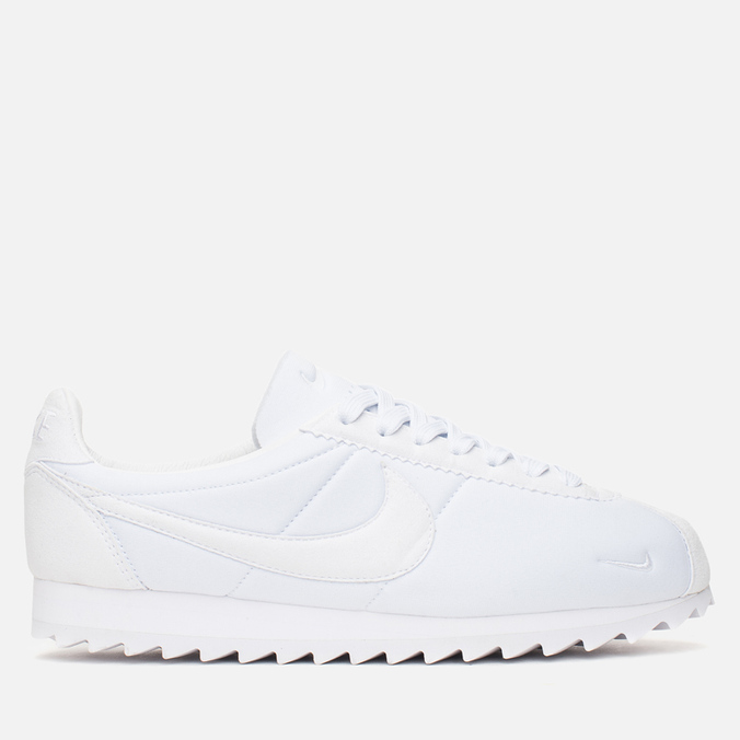 Мужские кроссовки Nike Classic Cortez Shark Low Big Tooth White/White