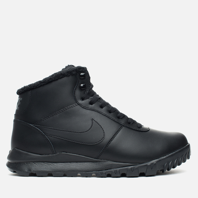 Nike Hoodland Leather Men's Sneakers Black