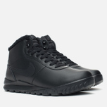 Nike Hoodland Leather Men's Sneakers Black photo- 1