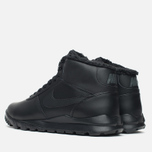 Nike Hoodland Leather Men's Sneakers Black photo- 2