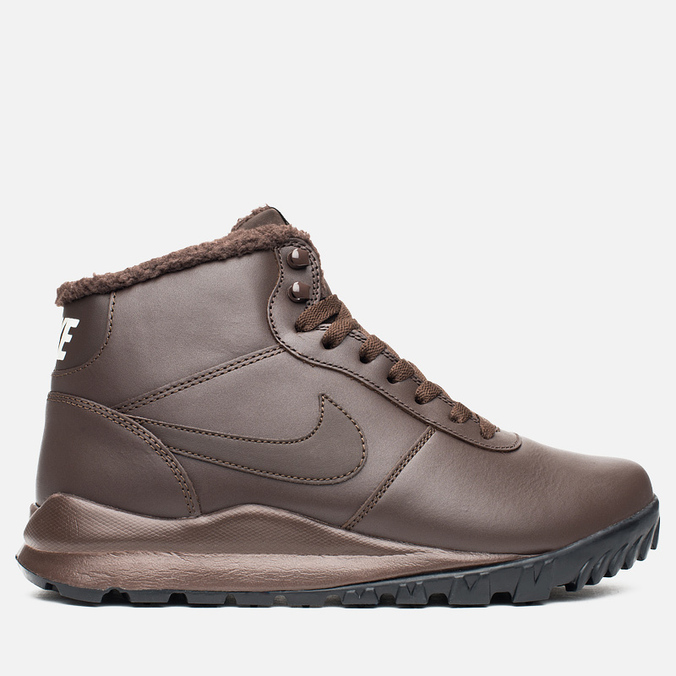 Мужские зимние кроссовки Nike Hoodland Leather Brown