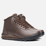 Nike Hoodland Leather Men's Sneakers Brown photo- 1