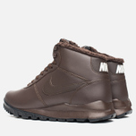 Nike Hoodland Leather Men's Sneakers Brown photo- 2