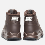 Nike Hoodland Leather Men's Sneakers Brown photo- 3