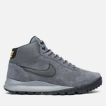 Мужские зимние кроссовки Nike Hoodland Suede Grey фото- 0