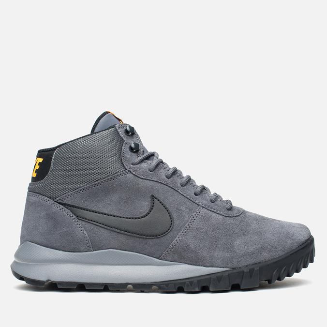 Мужские зимние кроссовки Nike Hoodland Suede Grey