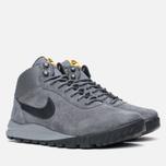 Мужские зимние кроссовки Nike Hoodland Suede Grey фото- 1