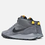 Мужские зимние кроссовки Nike Hoodland Suede Grey фото- 2