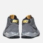 Мужские зимние кроссовки Nike Hoodland Suede Grey фото- 3
