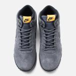 Мужские зимние кроссовки Nike Hoodland Suede Grey фото- 4