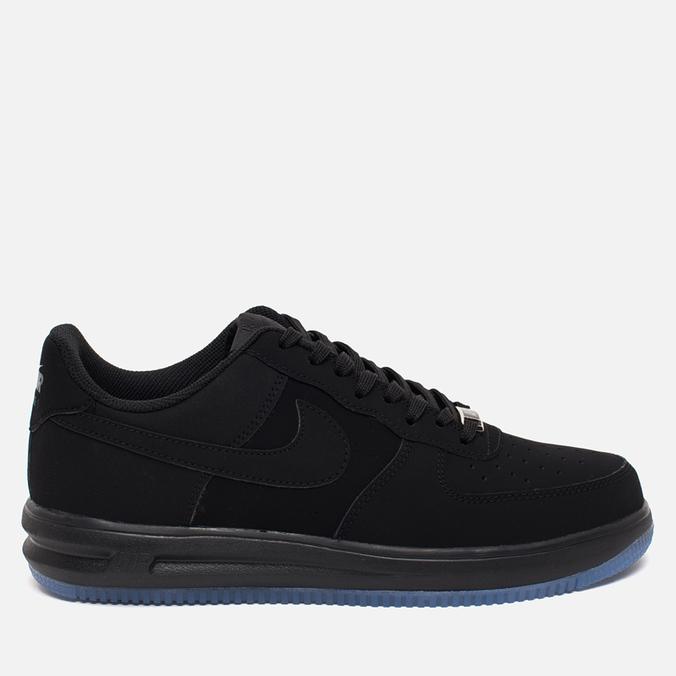 Мужские кроссовки Nike Lunar Force 1 14 Black/Black