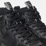 Мужские зимние кроссовки Nike Lunar Force 1 Duckboot Black/Metallic Silver/Anthracite фото- 5