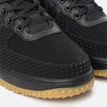 Мужские зимние кроссовки Nike Lunar Force 1 Duckboot Black/Metallic Silver/Anthracite фото- 6