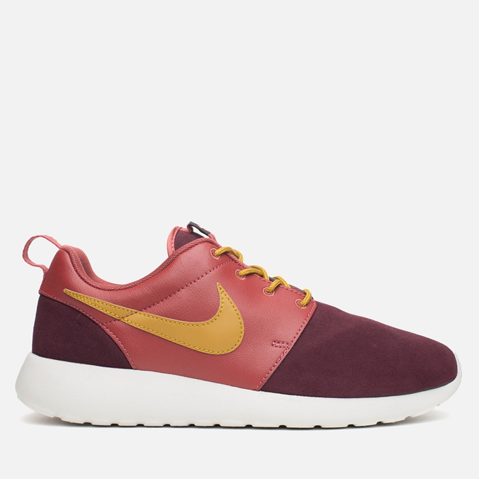 Мужские кроссовки Nike Rosherun Premium Bronzine/Deep Burgundy