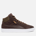 Puma 19948 Mid Marl Men's Sneakers Chocolate photo- 0