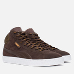 Puma 19948 Mid Marl Men's Sneakers Chocolate photo- 1