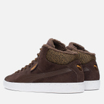 Puma 19948 Mid Marl Men's Sneakers Chocolate photo- 2
