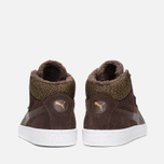 Puma 19948 Mid Marl Men's Sneakers Chocolate photo- 3