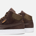 Puma 19948 Mid Marl Men's Sneakers Chocolate photo- 5
