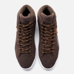 Puma 19948 Mid Marl Men's Sneakers Chocolate photo- 4