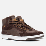 Puma Rebound v2 Fur Men's Sneakers Chocolate photo- 1