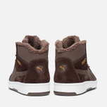 Puma Rebound v2 Fur Men's Sneakers Chocolate photo- 3
