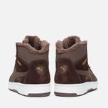Мужские зимние кроссовки Puma Rebound v2 Fur Chocolate фото- 3
