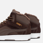 Puma Rebound v2 Fur Men's Sneakers Chocolate photo- 5