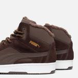 Мужские зимние кроссовки Puma Rebound v2 Fur Chocolate фото- 5
