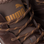 Puma Rebound v2 Fur Men's Sneakers Chocolate photo- 6