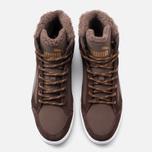 Мужские зимние кроссовки Puma Rebound v2 Fur Chocolate фото- 4