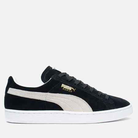 Мужские кроссовки Puma Suede Classic Eco Black/White