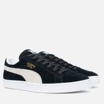 Мужские кроссовки Puma Suede Classic Eco Black/White фото- 1