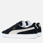 Мужские кроссовки Puma Suede Classic Eco Black/White фото- 2