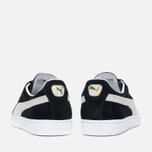 Мужские кроссовки Puma Suede Classic Eco Black/White фото- 3
