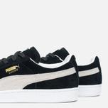 Мужские кроссовки Puma Suede Classic Eco Black/White фото- 5